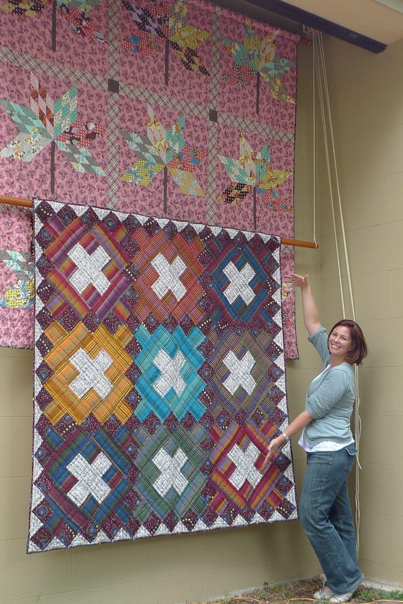 Quilt hanger w:liesel