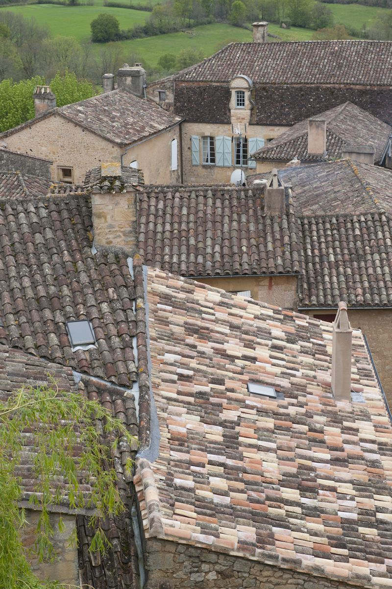 Tile roof palette