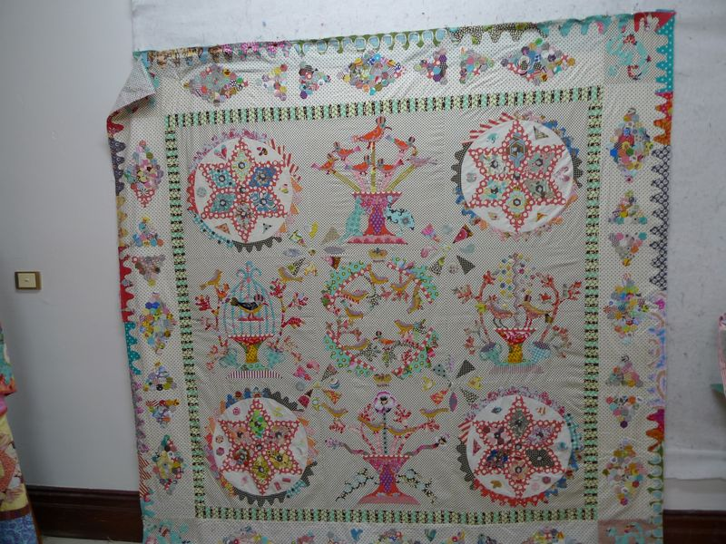 Full quilt with border