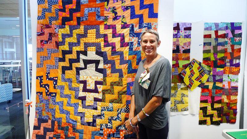 Victoria's quilt