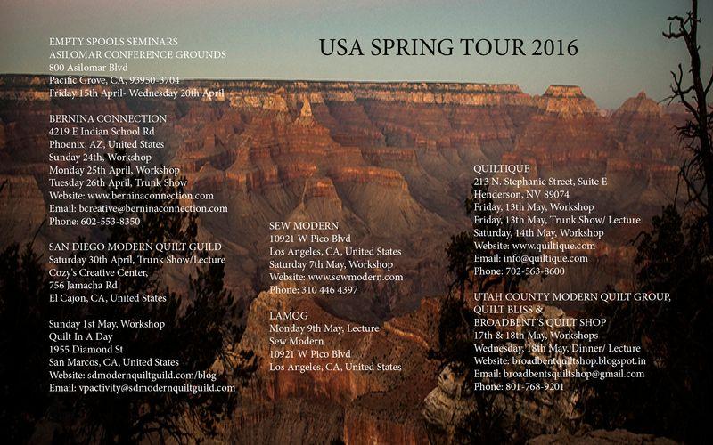 Usa SPRING TOUR