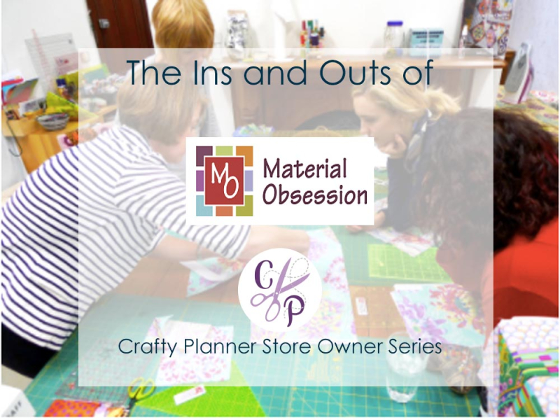 Material Obsession Graphic